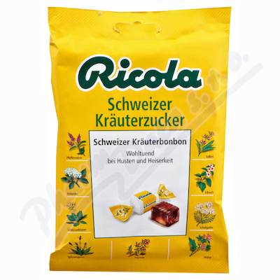 RICOLA Bag Bylinný s cukrem 75g