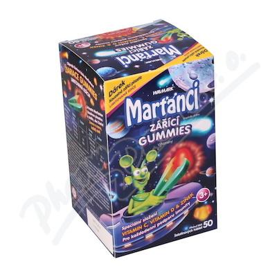 W Marťánci zářící gummies 50ks