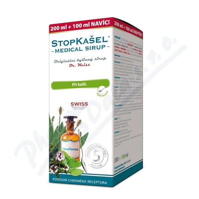 STOPKAŠEL Medical sirupDr.Weiss200+100ml