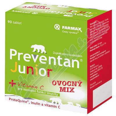 Preventan Junior ovoc.mix 90tbl.+dár.