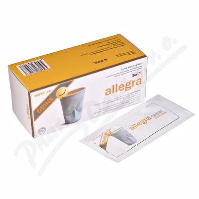 Allegra DRINK plv. sol. scc. 14x10g
