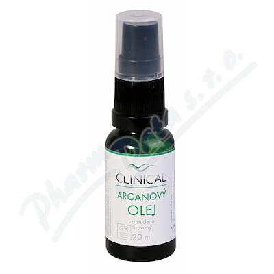 Arganový olej lis.za stud.Clinical 20ml