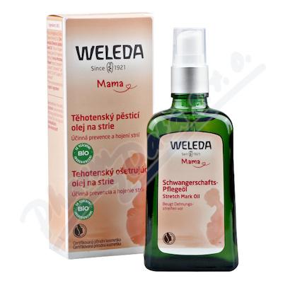 WELEDA Těhotenský pěsticí olej na strie 100 ml