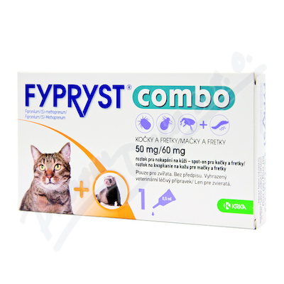 FYPRYST combo 1x0.5mlspot-on kočky,fretk