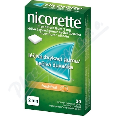 Nicorette Freshfruit gum 30X2mg