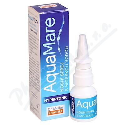 AquaMare nosní sprej hypertonický 20ml(D