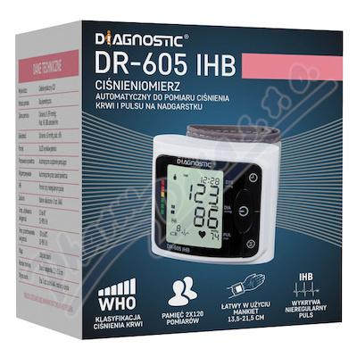 DIAGNOSTIC auto.záp.tlakoměr DR-605 IHB