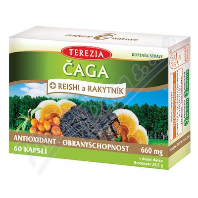TEREZIA Čaga+Reishi a Rakyt.60cps