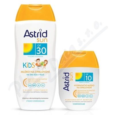 ASTRID SUN dětské opal.mléko OF30 200ml+OF10 80ml