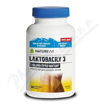NatureVia Laktob.3 cps.30