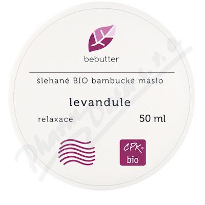 ARO Bebutter šl.BIO b.máslo levand50ml