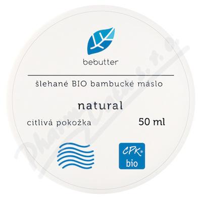 ARO Bebutter šl.BIO b.máslo natur50ml