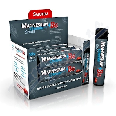 Magnesium Chelate+B6 cherry amp.10x25ml
