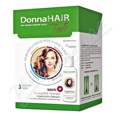 DonnaHAIR FORTE 3měs.kúra tob90 + šampon