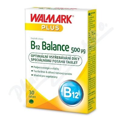 W B12 Balance 500mcg tbl.30
