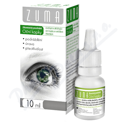 ZUMA-Oční kap.se světlíkem lékařským10ml