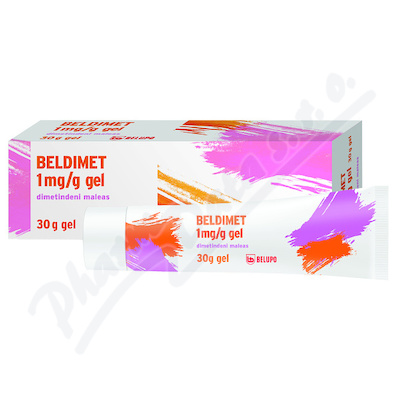 Beldimet 1mg/g gel 30g