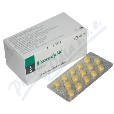 Bisacodyl K drg.105x5mg