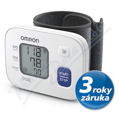 Tonometr dig.OMRON RS2 new na zápěstí