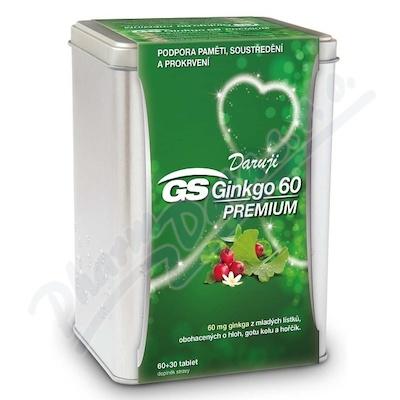 GS Ginkgo 60 Prem.tbl.60+30 dárek 2019