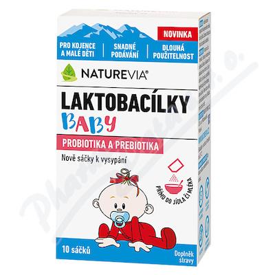 Swiss NatureVia Laktob.baby 10sáč.