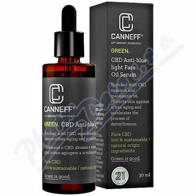 CANNEFF GREEN.CBD An.bl.light Serum 30ml