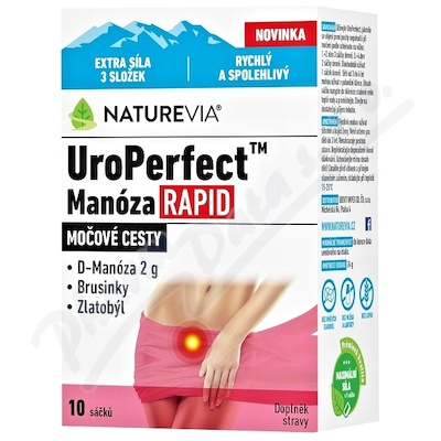 Swiss NatureVia UroPerfect Manoza 10sáč.