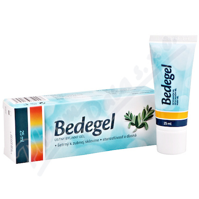 Bedegel ustni bylinny gel 25ml