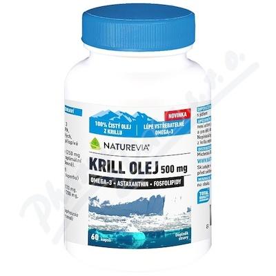 Swiss NatureVia Krill olej 500mg cps.60