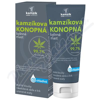 Cemio Kamzík.konopná mast chladivá 200ml