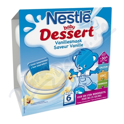 NESTLÉ Baby Dessert vanilkový 4x100g