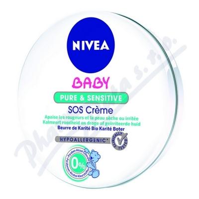 NIVEA Baby Pure&Sens.SOSkrém 150ml 80523