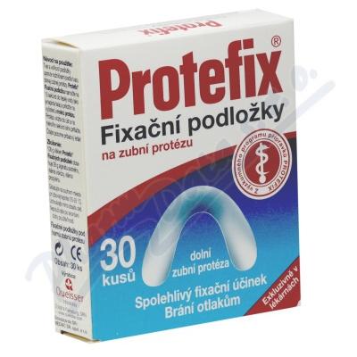 Protefix fixační podl.dolní zuby 30ks