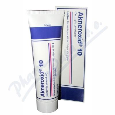 Akneroxid 10 gel 1x50g 10%