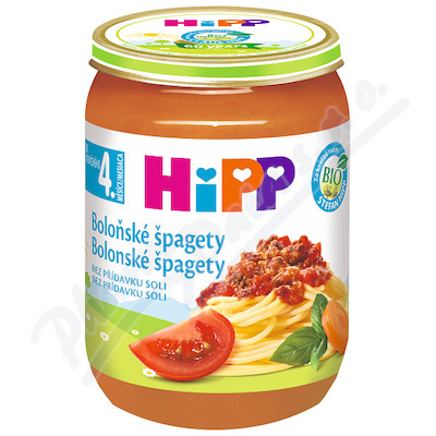 HiPP BM špagety v boloň.om.190g 6230-01
