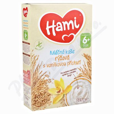 Hami ml.kaše rýžová vanilk.přích.225g