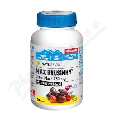 NatureVia Max Brus.Cran-Max 90cps.