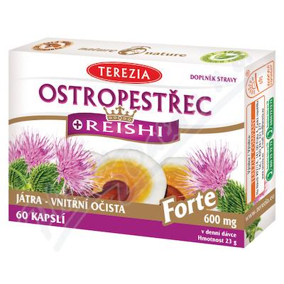 TEREZIA Ostropestřec+Reishi Forte60cps.