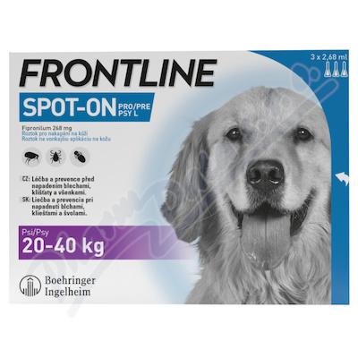 Frontline SpOnDog 20-40kg pipeta3x2.68ml