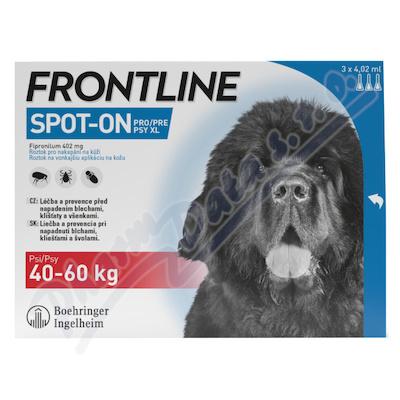 Frontline SpOnDog 40-60kg pipeta3x4.02ml