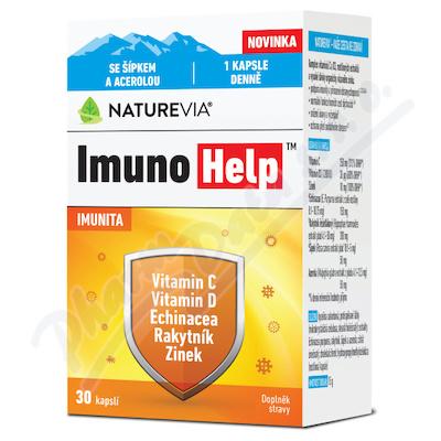 Swiss NatureVia ImunoHelp cps.30