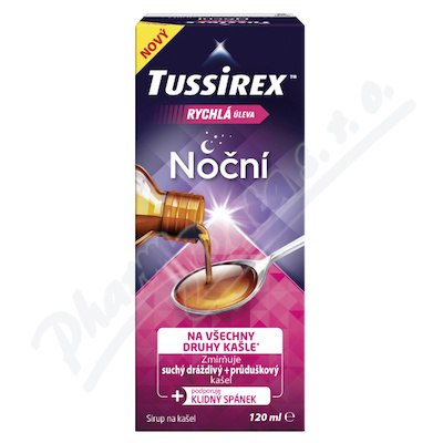 Tussirex nocni sirup 120ml