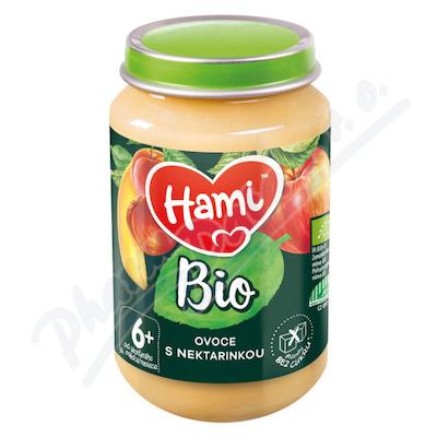 Hami ovoc.příkrm ovoce s nektarinkou BIO 6+ 190g