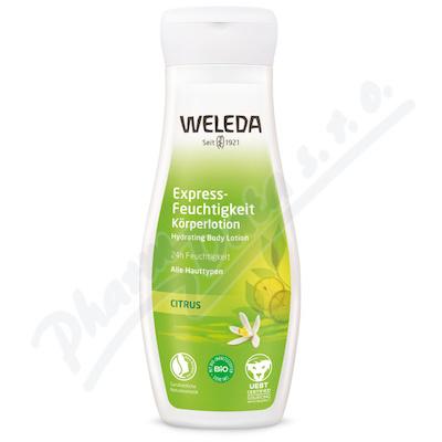 WELEDA 24h Expresně hydratující tělové mléko 200ml