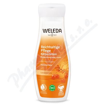 WELEDA Energizující tělové mléko 200ml