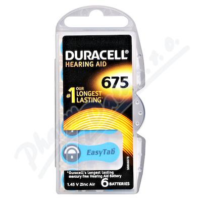 Baterie naslouch.Duracell DA675P6/N6 6ks