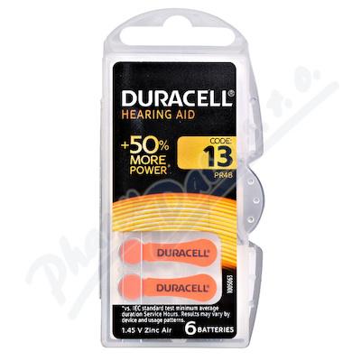 Baterie naslouch.Duracell DA13P6/N6 6ks