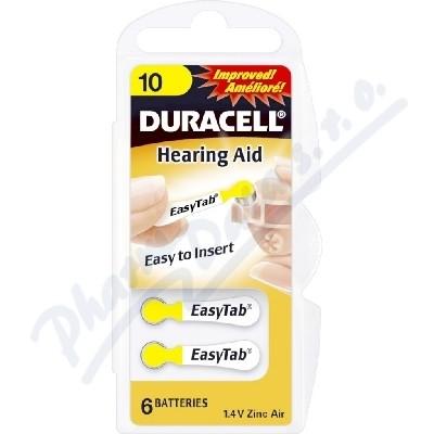 Baterie naslouch.Duracell DA10B6/N6 6ks