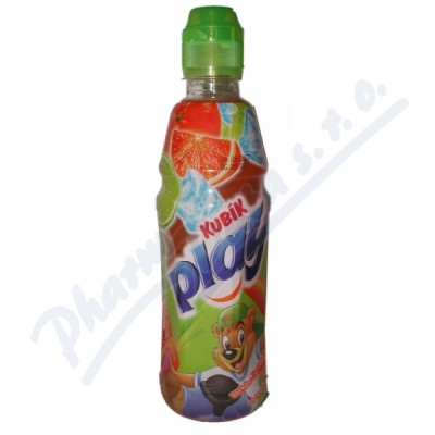 KUBÍK Play mrkev+č.pomeranč+limetka 0.4l