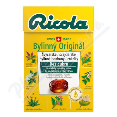 RICOLA Orig.bylinná směs 40g bez cukru